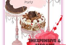 Party Ideas / If you are anything like me you love to plan a good party! From the Party decor to the appetizers you will serve. Have a certain theme? Get Party ideas here! Baby Shower / Birthday Parties / Super Bowl Parties / Christmas Parties / Halloween Parties