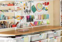 Workplace organization / Организация рабочего места / Workspace handmaders / Рабочее пространство рукодельниц