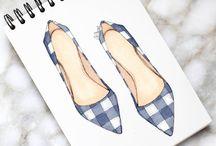 ayakkabı çizim