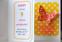 Birthday - invitation