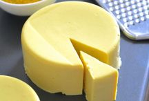 Dairy free cheese