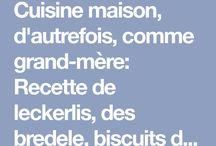 Leckerlis  biscuits de noël