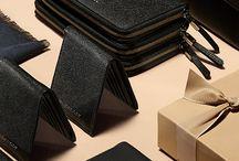Chritmas Leather Goods Display