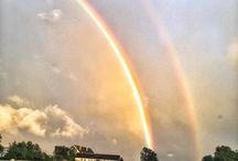 Instagram Två regnbågar - Two rainbows - Somewhere Over the Rainbow(s)