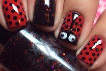 Insect nail art