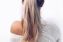 Cabello y peinados lindos