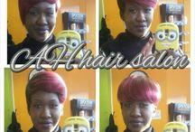 A & H HAIR SALON / Hairstyles
