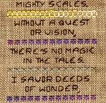 Fairy tale cross stitch