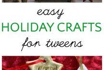 Christmas Crafts Kids Tweens / Fun easy Christmas crafts for kids and tweens