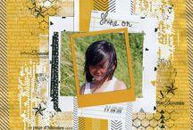 """Kit de scrap """"Shine Bright"""""""