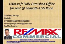 Furnished office for rent in SG Highway SG road