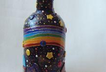 Бутылки, флаконы