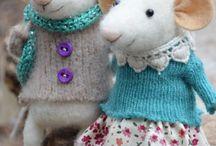 laine feutré / crochet