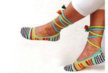 pies - Crochet - Feet