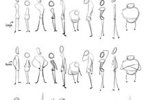 Character design draw basic