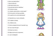 Fichas de Ed. Primaria.