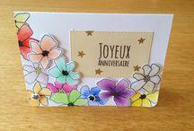 Cartes anniversaire, remerciements, occasions / Divers cartes