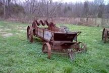 Gamle landbrugsredskaber