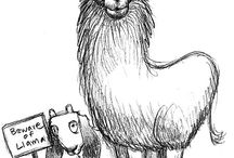 Random Llamas / There is nothing random about these llamas! / by Elena Wellard