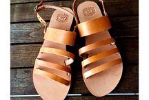 Summer Sandals / Leather Sandals Women handmade