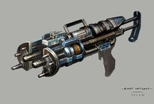 Science Fiction weapons