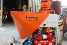Euro-mac plaster machines