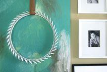 DIY artwork / by Emmie {Blue 11 Interiors}