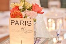 Table Plans/ Table Names