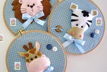 Embroidery Ring Nursery Decor