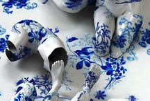 Porcelian ceramics and pottery