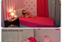 Kids' Room / Baby and Kids' Room Ideas  / by Kathy By Anthomeli
