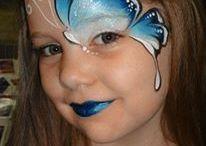 malování na tváře