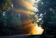 Stunning sunlight photography