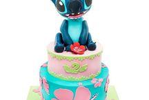 Gâteaux 3D Lilo & Stitch