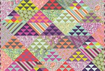 Triangle quilts