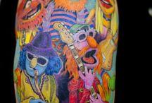 Tracey's tattoo
