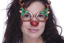 Lunettes fantaisie Noël