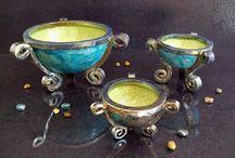 Raku Bowls and cups
