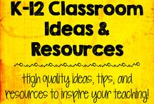 K-12 Classroom Ideas and Resources / This board is the place to be if you are looking for high quality ideas, tips, and resources to inspire your teaching!  Collaborators: 1 PAID pin per day, with a 3:1 ratio required. Remember not to flood the board with too many pins at one time. / by Created by MrHughes