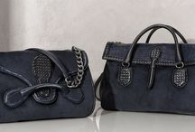 A DARK ROMANCE / In the deepest shades of navy and indigo, Bottega Veneta's leather, suede and denim reach new depths of glamour.