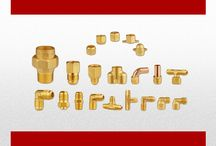 BRASS COMPONENTS / Every Product In Factory Has To Pass Through Strict Quality Control Tests And Only Those Products Leave The Factory, Which Pass The Accepted Standards. All Products Are Made From High Quality Brass And. The Production Method Is Sand Casting. To Give A Long Lasting Finish And Better Results.