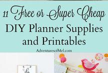 Planner crafts