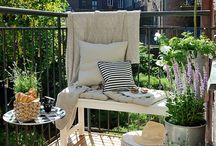 BALCONIES AND GARDENS / THE BEST BALCONIES AND GARDENS' IDEAS