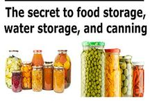 food & water storage