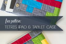 Sewing Ipad case