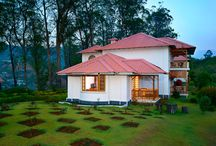 KTDC-Tea County / Cosily nestled right in the middle of two hills is Tea County, your official host in Munnar. Here, every room offers mesmerizing views. You can enjoy the mist rolling down in the warmth of luxuriously furnished rooms. And it is literally a honeymooner's paradise. Those who want to venture out may bicycle down mountain trails, paraglide over the valleys, go trekking, climb rocks, try to catch a rainbow trout or spend a day in a tea plantation.