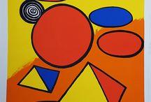 Alexander Calder / Obra Gráfica original a la venta en nuestra Galería de Arte Contemporáneo firmada y numerada a mano por el artista Alexander Calder
