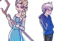 "Jack and Elsa:)  / ""Snow"" perfect:) / by Jordan Strack"
