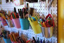 Craft Organization / by Bonnie Spinks {BonnieBrands.com}