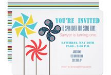 Spin over for Some Fun - 1st birthday